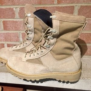 Rocky Outdoor Gear Shoes - Rocky Men's Military Combat Boot Tan SZ 10